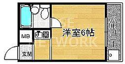 マンション栄光[4-D号室号室]の間取り