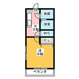エコパルI[5階]の間取り