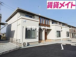 三重県松阪市郷津町の賃貸アパートの外観