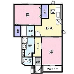 ピュアシティ−[1階]の間取り