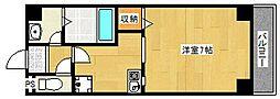 サンハイツ岸里[2階]の間取り