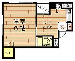 BAY TOWER OSAKA(ベイ タワー オオサカ)[5階]の間取り