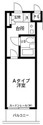 メゾンエクレーレ江古田[3階]の間取り