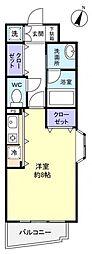 千葉県八千代市ゆりのき台1丁目の賃貸マンションの間取り