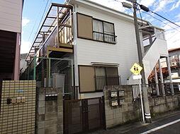東京都目黒区中町2の賃貸アパートの外観