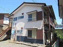 東京都昭島市東町4丁目の賃貸アパートの外観
