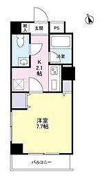 東京都武蔵野市吉祥寺南町3丁目の賃貸マンションの間取り