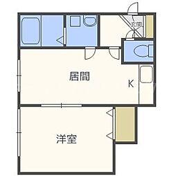 トップハウス19[3階]の間取り