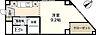 間取り,ワンルーム,面積26.4m2,賃料5.5万円,広島電鉄1系統 鷹野橋駅 徒歩8分,広島電鉄6系統 舟入本町駅 徒歩9分,広島県広島市中区住吉町