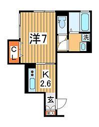仮)D-roomTV柏[302号室]の間取り