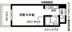 加島ハイツ[107号室号室]の間取り