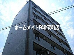 大阪府大阪市港区弁天5の賃貸マンションの外観