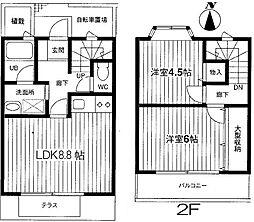 [タウンハウス] 東京都練馬区西大泉1丁目 の賃貸【/】の間取り