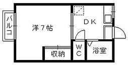 古川ミュゼハウス[11号室]の間取り