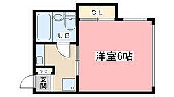 みつまるマンション[305号室]の間取り