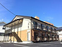 福島県福島市東浜町の賃貸アパートの外観