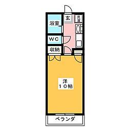 Liberty桜島 2[2階]の間取り