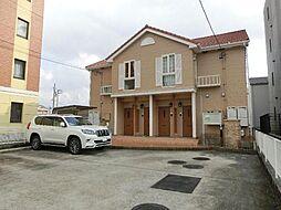 愛知県清須市西田中白山丁目の賃貸アパートの外観