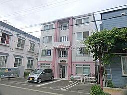 北海道札幌市東区北二十二条東17丁目の賃貸マンションの外観