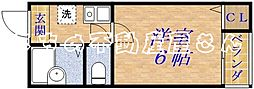 メゾンサフィール[3階]の間取り