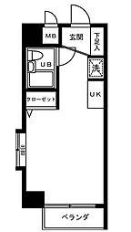 オークハウス浅草[0605号室]の間取り