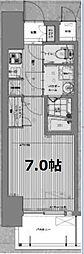 W-STYLE福島IIウィステリア[6階]の間取り