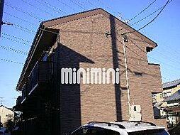愛知県北名古屋市熊之庄古井の賃貸アパートの外観