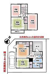 [一戸建] 埼玉県狭山市狭山 の賃貸【/】の間取り