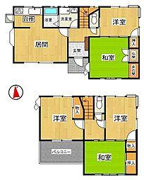 5DKでゆとりある室内です敷地も約49坪超え