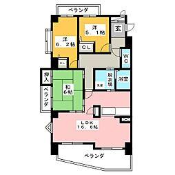 グレイス覚王山[2階]の間取り