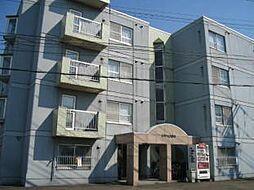 北海道札幌市白石区栄通15丁目の賃貸マンションの外観