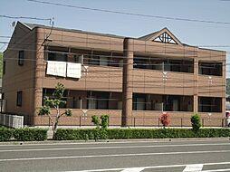 岡山県井原市高屋町1丁目の賃貸アパートの外観