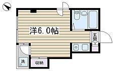 駒込MSビル[202号室]の間取り