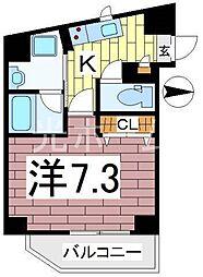 ブリエ・ラクティII[2階]の間取り