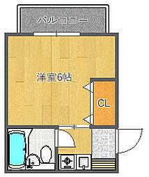 JPアパートメントSUITA[3階]の間取り
