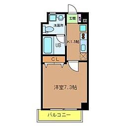 Ritz新今里[6階]の間取り