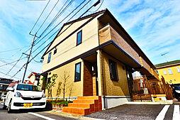 埼玉県吉川市高久2丁目の賃貸アパートの外観