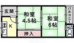 喜連瓜破駅 2.8万円