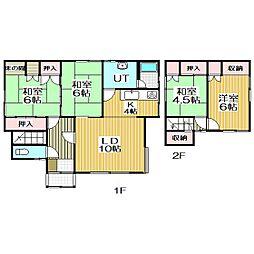 [一戸建] 北海道室蘭市本輪西町5丁目 の賃貸【北海道 / 室蘭市】の間取り