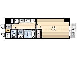 セリーン都島[8階]の間取り
