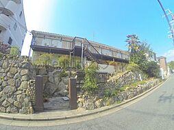 大阪府池田市石橋1丁目の賃貸アパートの外観