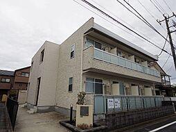東京都小平市学園西町3の賃貸アパートの外観