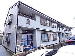 千葉県船橋市駿河台1丁目の賃貸アパートの外観