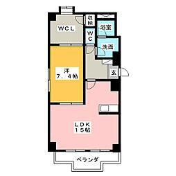 NTビル[3階]の間取り