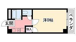 ドムール若山[306号室]の間取り