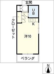 FUWAHOUSE[3階]の間取り