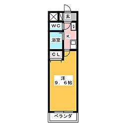 A・City岡崎朝日町[3階]の間取り