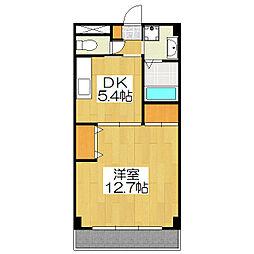 京都ガーデンテラス[306号室]の間取り