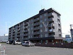 北海道札幌市厚別区厚別中央一条1丁目の賃貸マンションの外観