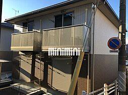 静岡県静岡市清水区草薙杉道3の賃貸アパートの外観